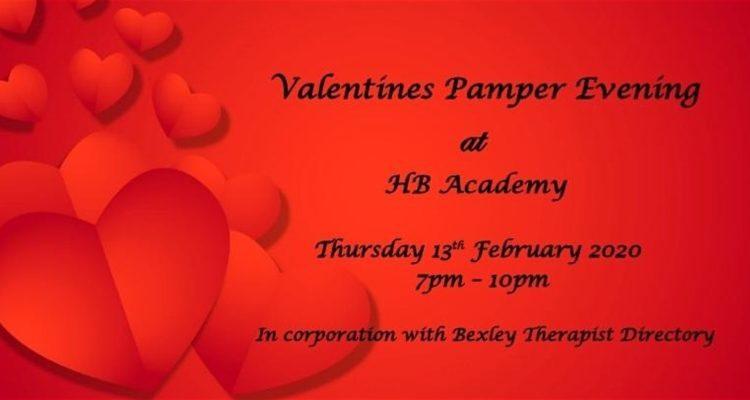 Valentines Pamper Evening